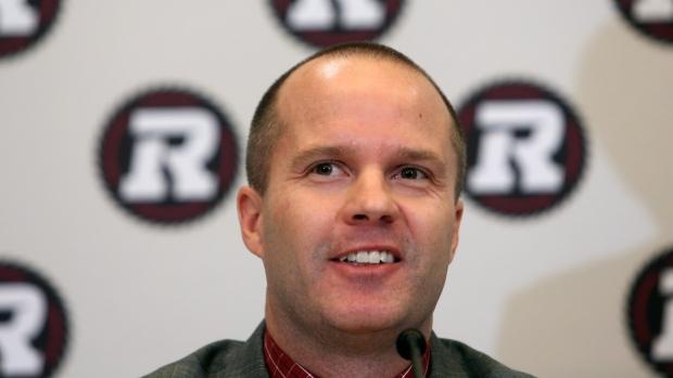 Rick Campbell Head Coach Ottawa Redblacks