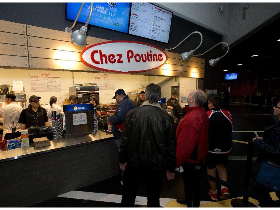 Chez Poutine at TD Place Lansdowne Park