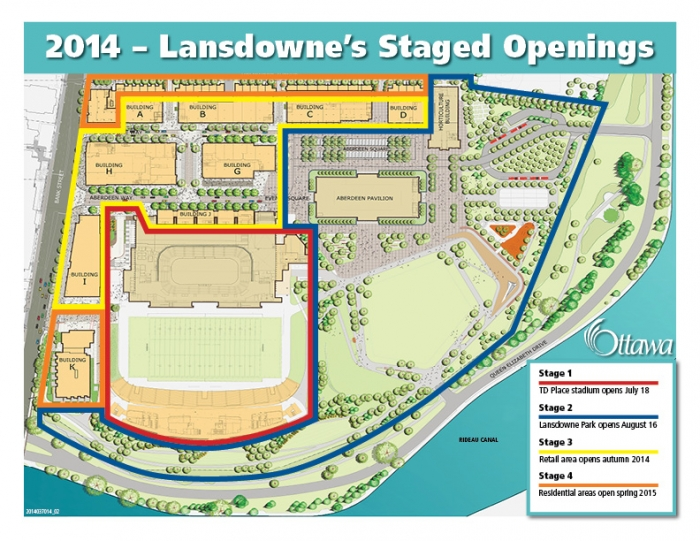Lansdowne Park Map Activities