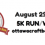 Ottawa Craft Beer 5K Run or Walk – August 29, 2015